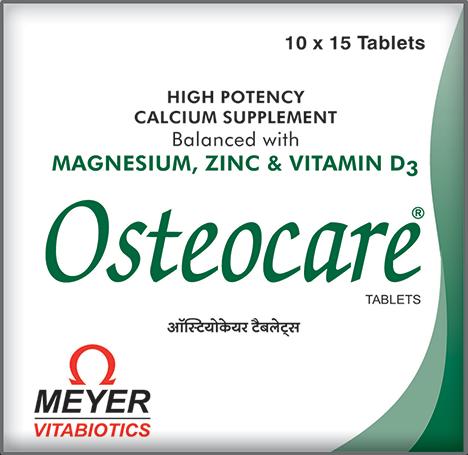 Osteocare Tablets Meyer Organics Pvt Ltd